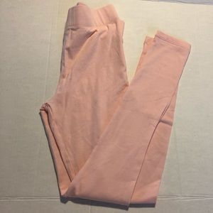 3/$10 NWOT Forever 21 leggings light pink small